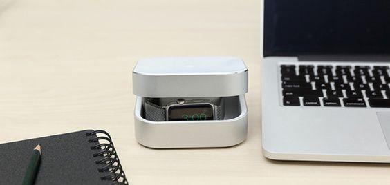 Si tienes un Apple Watch, vas a querer este accesorio: Amber (CES 2016) - http://www.actualidadiphone.com/si-tienes-un-apple-watch-vas-a-querer-este-accesorio-amber-ces-2016/