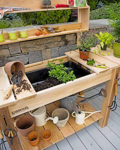 Mobiletti Giardino Organizzazione E Stile Fillyourhomewithlove Panchine Da Giardino Pallet Tavoli Da Lavoro Per Giardinaggio Idee Arredo Giardino Fai Da Te