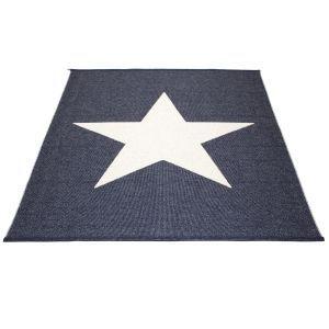 PAPPELINA - Viggo star 180 x 230 cm, plastic rug