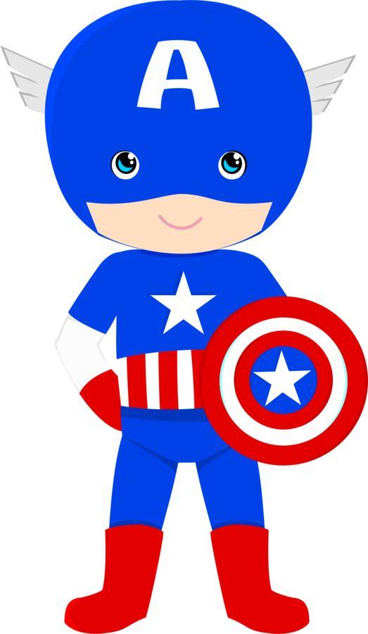 Captain America Clip Art Cliparts
