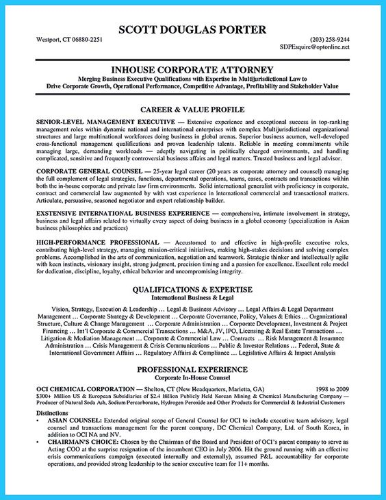 Do you know how to make a powerful and interesting bartender - transactional attorney sample resume