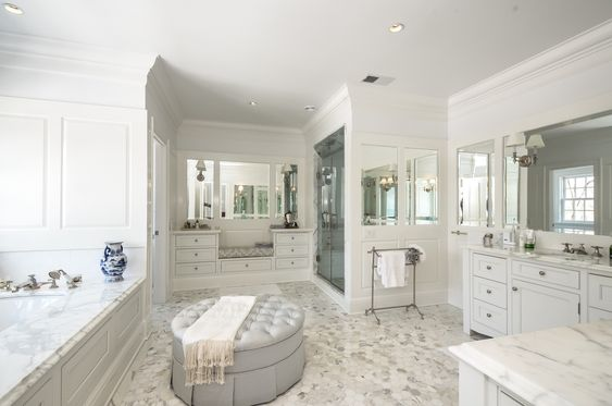 Big Walk In Closets gorgeous master bath, of course en suite with big walk-in closets
