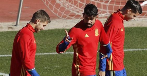 Diego Costa abandona la selección por sus molestias en la ingle y Lopetegui llama a Iago Aspas