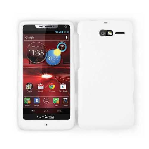 Unlimited Cellular Snap-On Case for Motorola Droid Razr M XT907 (Honey White, Leather Finish)