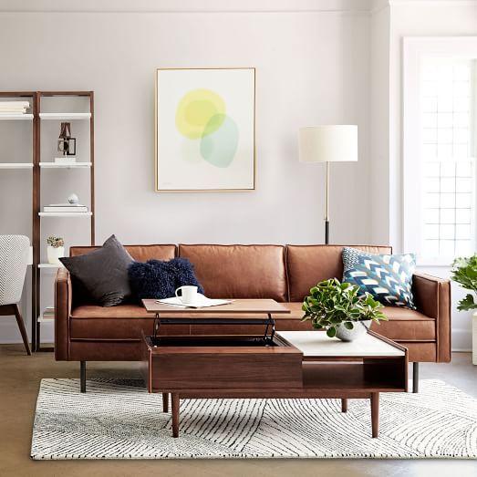 Xu hướng lựa chọn sofa da phòng khách chung cư