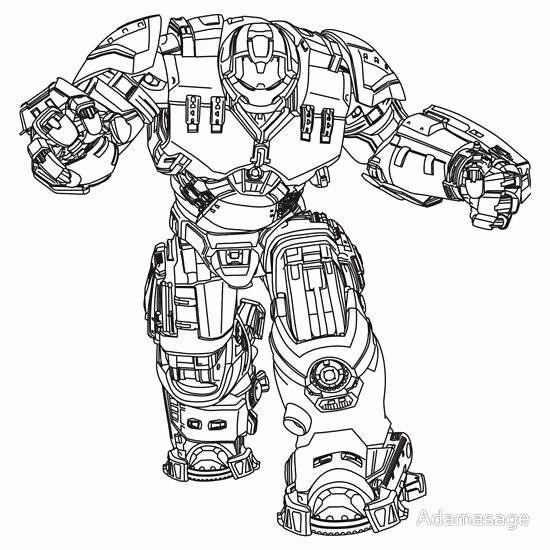 Hulk Buster Coloring Page New Hulkbuster Drawing At Getdrawings In 2020 Iron Man Hulkbuster Hulk Coloring Pages Iron Man Drawing