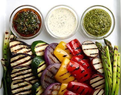 Mediterranean grilled vegetables recipe with variations