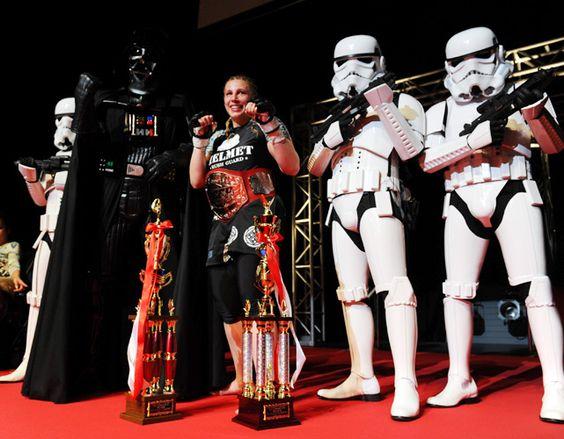#MMA fighter Amanda Lucas-George Lucas' daughter!