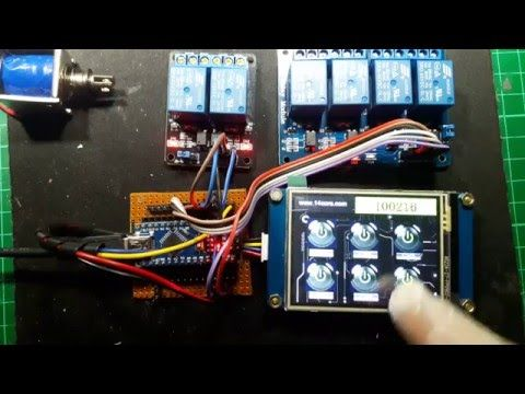 This Is The Nextion Hmi A Human Machine Interface Device That Provides A Gui Control Of Instruments Microcontrollers Human Machine Interface Arduino Controller