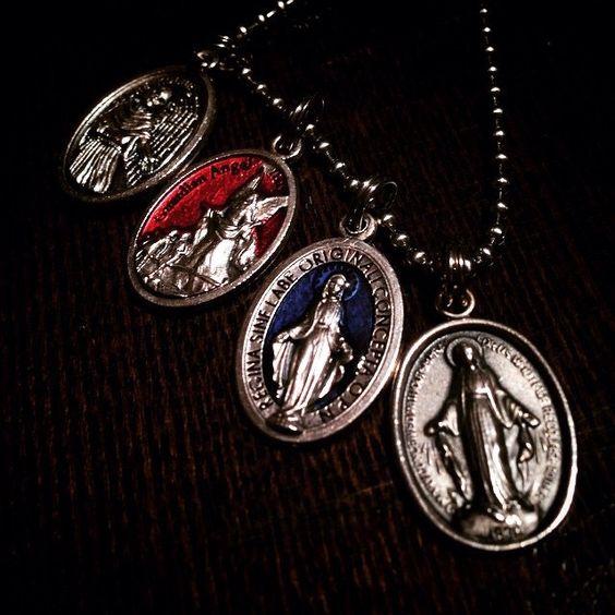 Saints medals