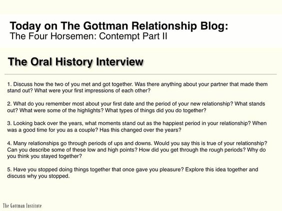Oral History Questionnaire 40