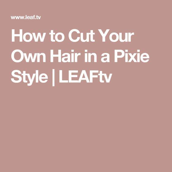 how to cut your own hair the mumsnet haircut pin cut