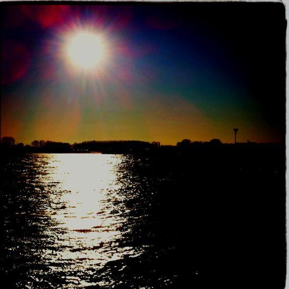 Sun #Waal #Tiel: Sun Waal, De Waal, Bij Tiel, Waal Tiel, Waal Bij, Cities, Memories