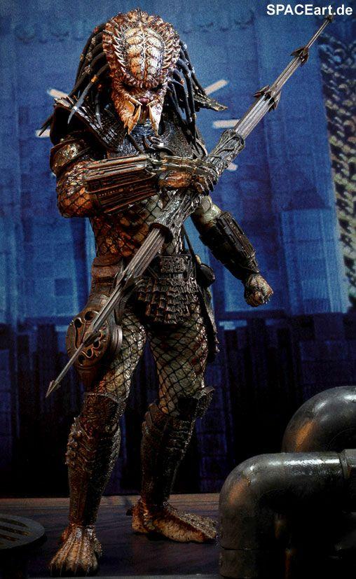 Predator 2: City Hunter Predator - Deluxe Figur, Fertig-Modell, http://spaceart.de/produkte/pr025.php