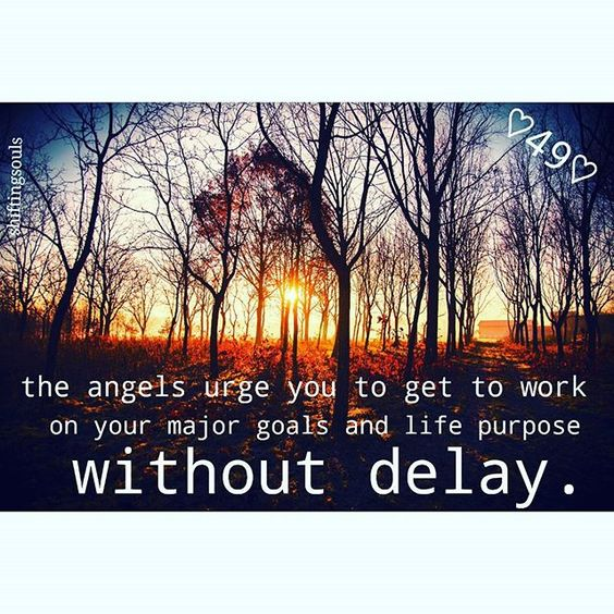 It is time to start working without delay. The clock is on. Really important message from your angels today. Have an amazing day full of smiles.  #shiftingsouls #youcan #meditation #miracle #signs #insight #love #emotions #universe #changes #selfgrowth #selflove #abundance #doreenvirtue #angel