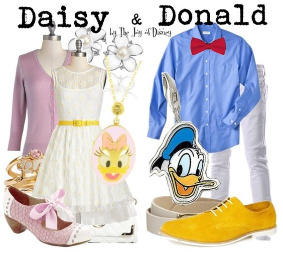 Disney Fashion, Daisy and Donald Duck Outfits                              …