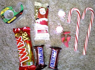 Six Sisters' Stuff: 12 Days of Christmas Traditions: Candy Sled Races
