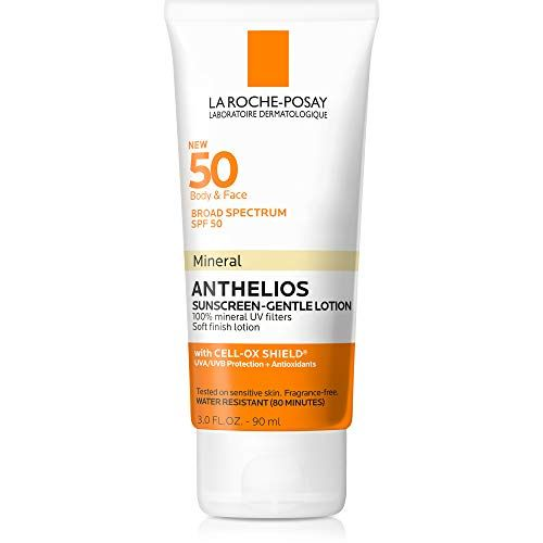 La Roche Posay Anthelios Mineral Sunscreen Spf 50 Gentle Lotion Https Skincare Bouti Mineral Sunscreen Sunscreen For Sensitive Skin Skin Cleanser Products