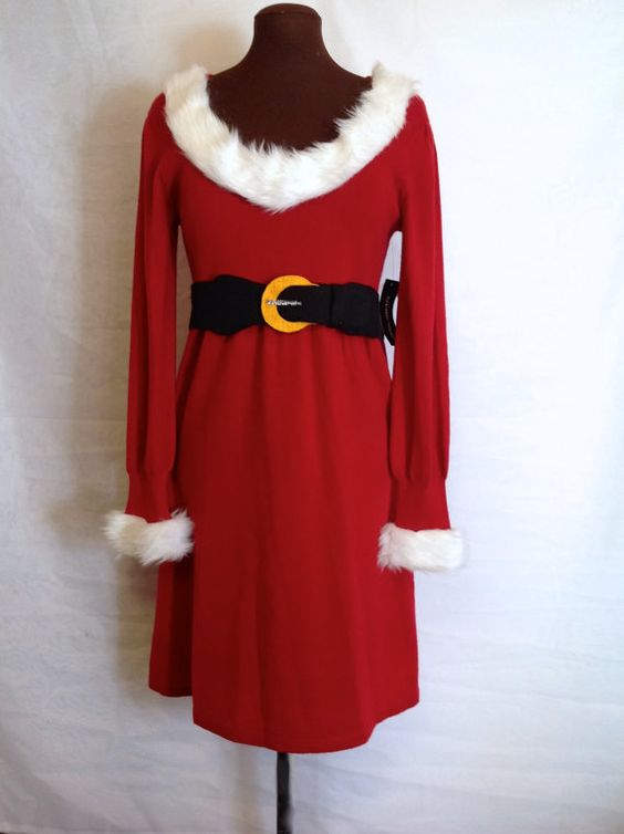 Beautiful mrs claus costume your sure to stand out with