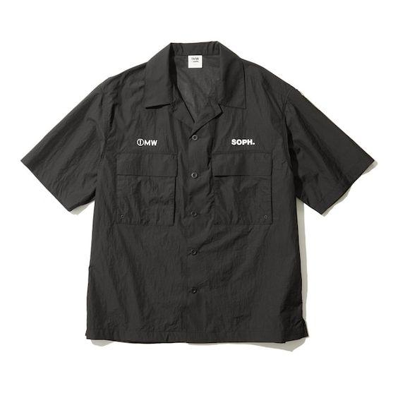 オープンカラーシャツ1MW by SOPH. +X | GU(ジーユー)公式通販オンラインストア