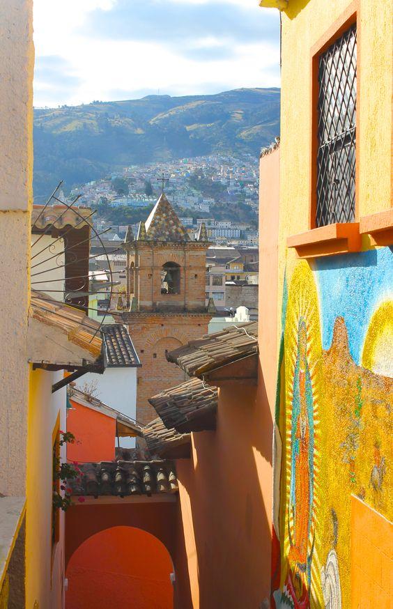 Centro Histórico Quito Campanario