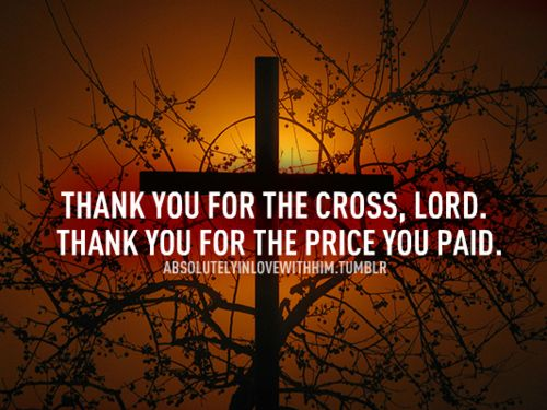 Thank You, Lord.