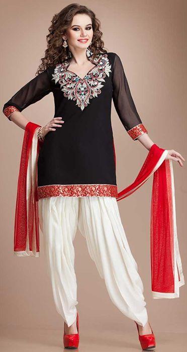 Punjabi suit design patterns for tailoring - Google Search | Fashion-Indian Pakistani Suits ...