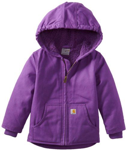 Carhartt Girls 2-6X Redwood Jacket Purple 2T Carhartthttp://www