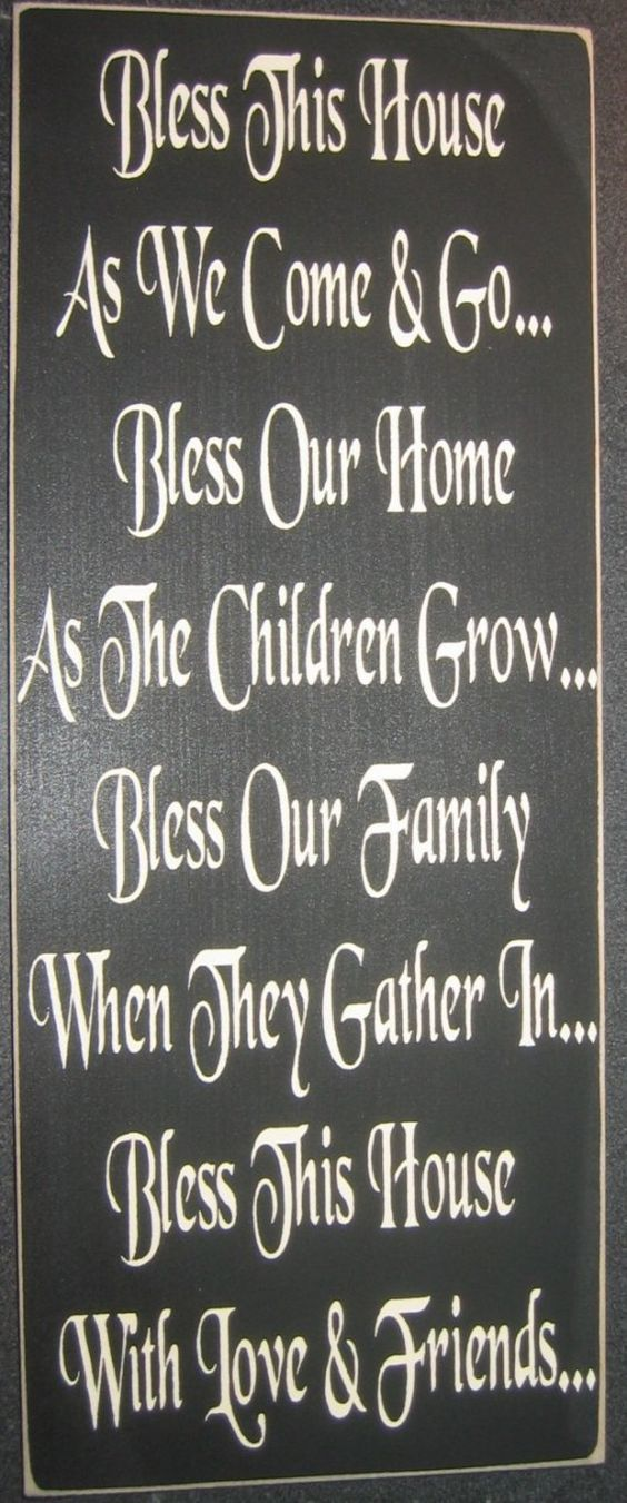 bless this house poster pdf
