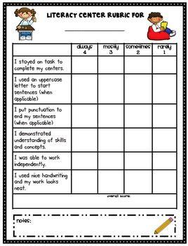 Rubric for Assessing Written Presentation