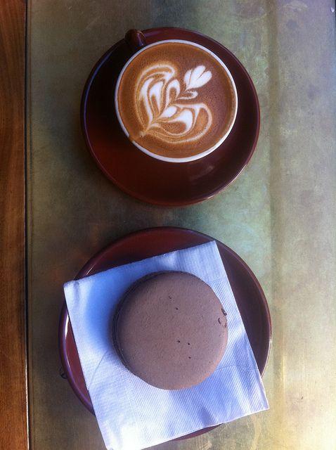 Macchiato & Macaron (Stumptown Coffee Roasters, Ace Hotel)