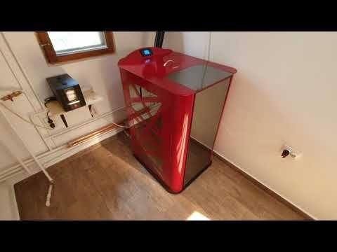 Termosemineu Pe Peleti 25 Kw Kenda Instalare Simpla Complet Echipat Youtube Kenda Home Decor Decor