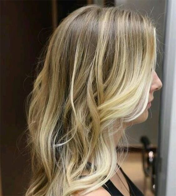 balayage blond platine google suche ombr hair pinterest blond and balayage. Black Bedroom Furniture Sets. Home Design Ideas