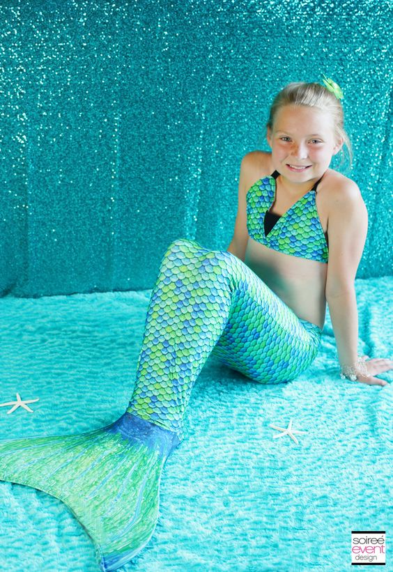 | Trend Alert:  Fin Fun Mermaid Tails   Giveaway! | http://soiree-eventdesign.com
