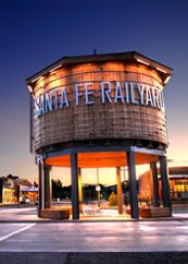 Santa Fe Railyard : the new gathering place for all of Santa Fe's citizens and its visitors.