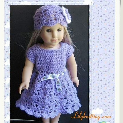 Free Knitting Pattern For Doll Hat : Girl dolls, Doll dresses and Girl doll clothes on Pinterest