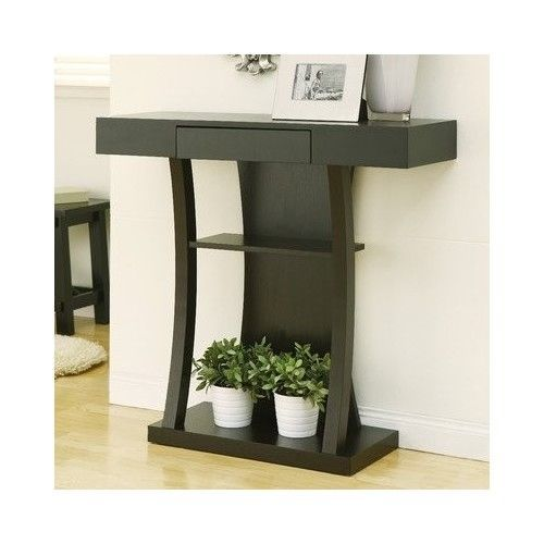 Home Console Table Entryway Entrance Foyer Drawer Storage Hallway Furniture Top #ConsoleTable