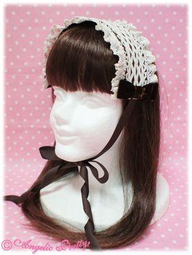 {Angelic Pretty} Milk Tea headdress in brown
