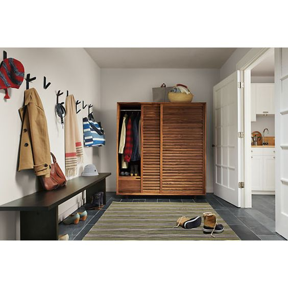 Room & Board - Moro Anywhere Armoire with Double Short Wardrobes & 6 Drawers