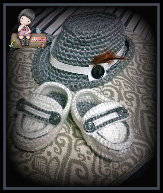 Sombrero Fedora con Mocacines