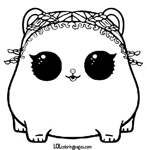 Lol Surprise Coloring Page Lol Dolls Puppy Coloring Pages Cat Coloring Page