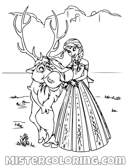 Frozen 2 Coloring Pages For Kids Mister Coloring In 2020 Frozen Coloring Pages Frozen Coloring Coloring Pages