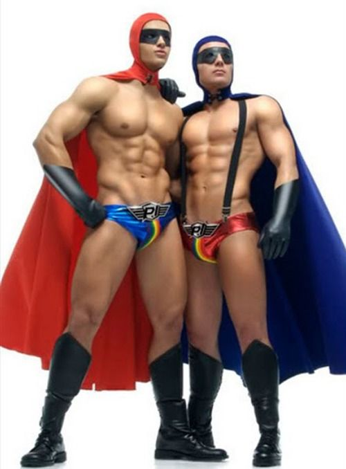 Gay Superhero Art 44