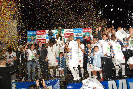 Boyaca Chico Campeon 2008 Apertura del Futbol Colombiano.. Inolvidable