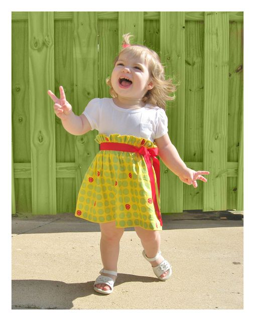 shirred skirt/dress tutorial.