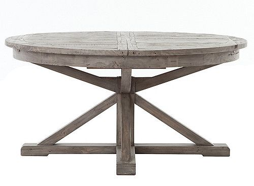 Cintra Dining Table W Butterfly Leaf Round Farmhouse Table Table Farmhouse Table