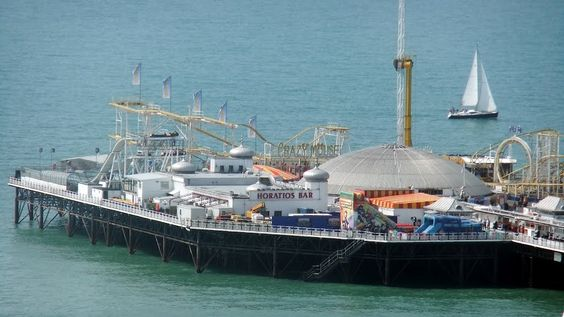 Brighton - 'End of the Pier'   http://bovingtonbitsandblogs.blogspot.com.es/ #England #Sussex #Brighton