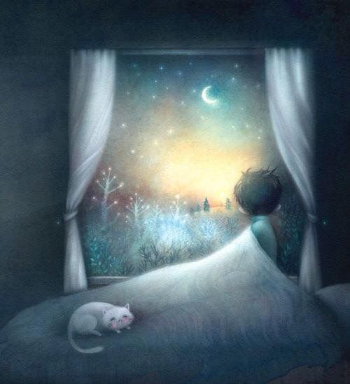 ♥•*¨*• ..watching You, in nights full of stars