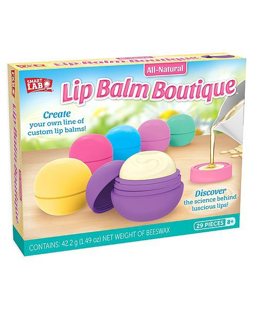 Smart Lab Toys All Natural Lip Balm Boutique Kit Mädchen