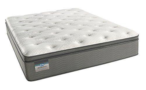 Simmons Beautysleep Luxury Firm Pillow Top 400 Cal King Innerspring Mattress Firm Pillows Mattress Pillow Top Mattress